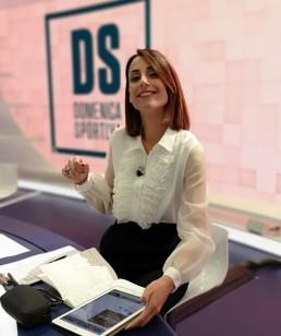 """Giorgia Cardinaletti - """"La Domenica Sportiva"""" (28/04/19) RaiDue"""